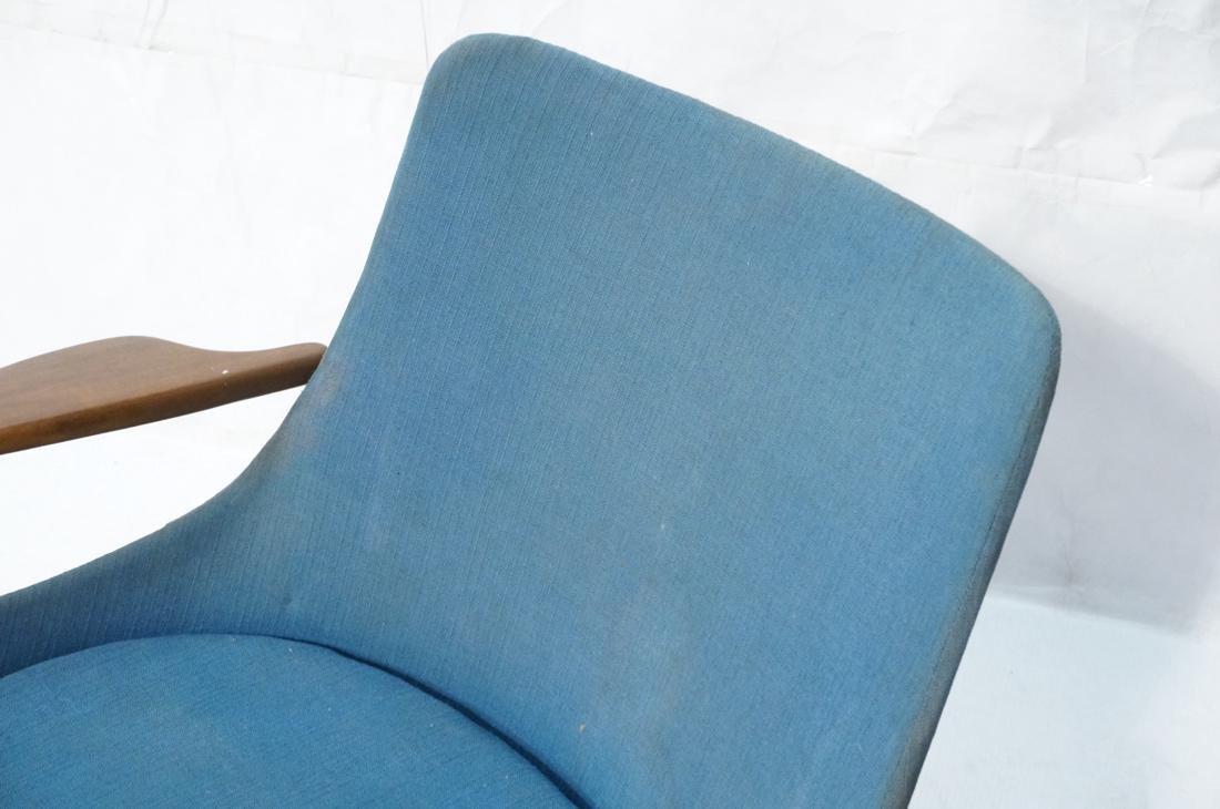 KOFOD LARSEN for SELIG Danish Modern Lounge Chair - 2