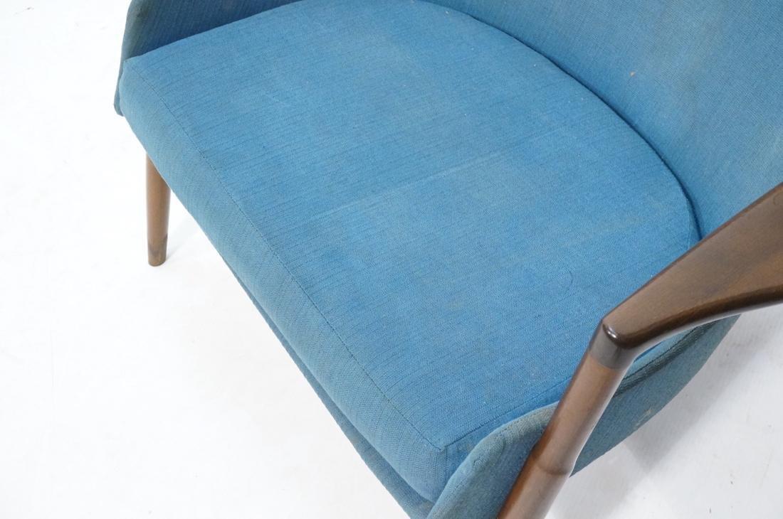 KOFOD LARSEN for SELIG Danish Modern Lounge Chair - 3