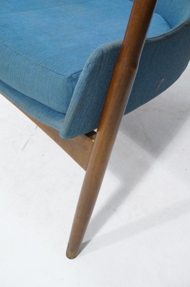 KOFOD LARSEN for SELIG Danish Modern Lounge Chair - 5