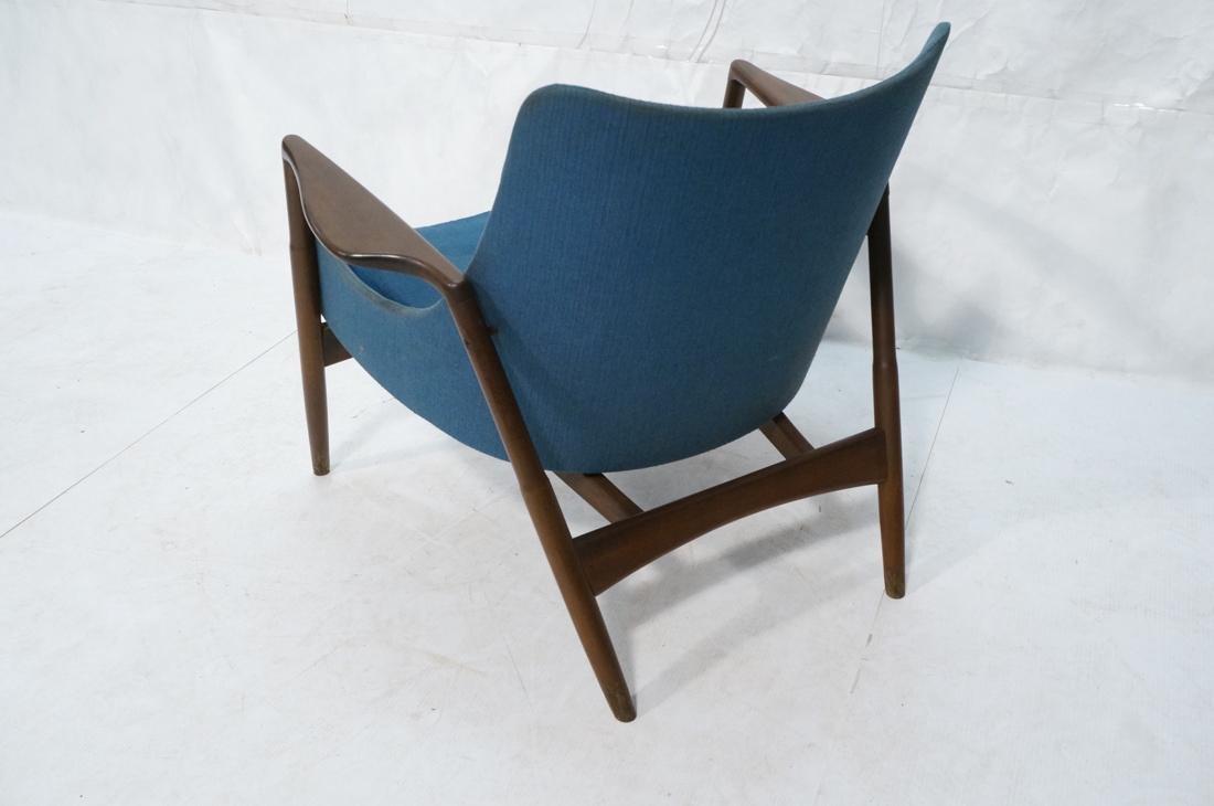 KOFOD LARSEN for SELIG Danish Modern Lounge Chair - 6