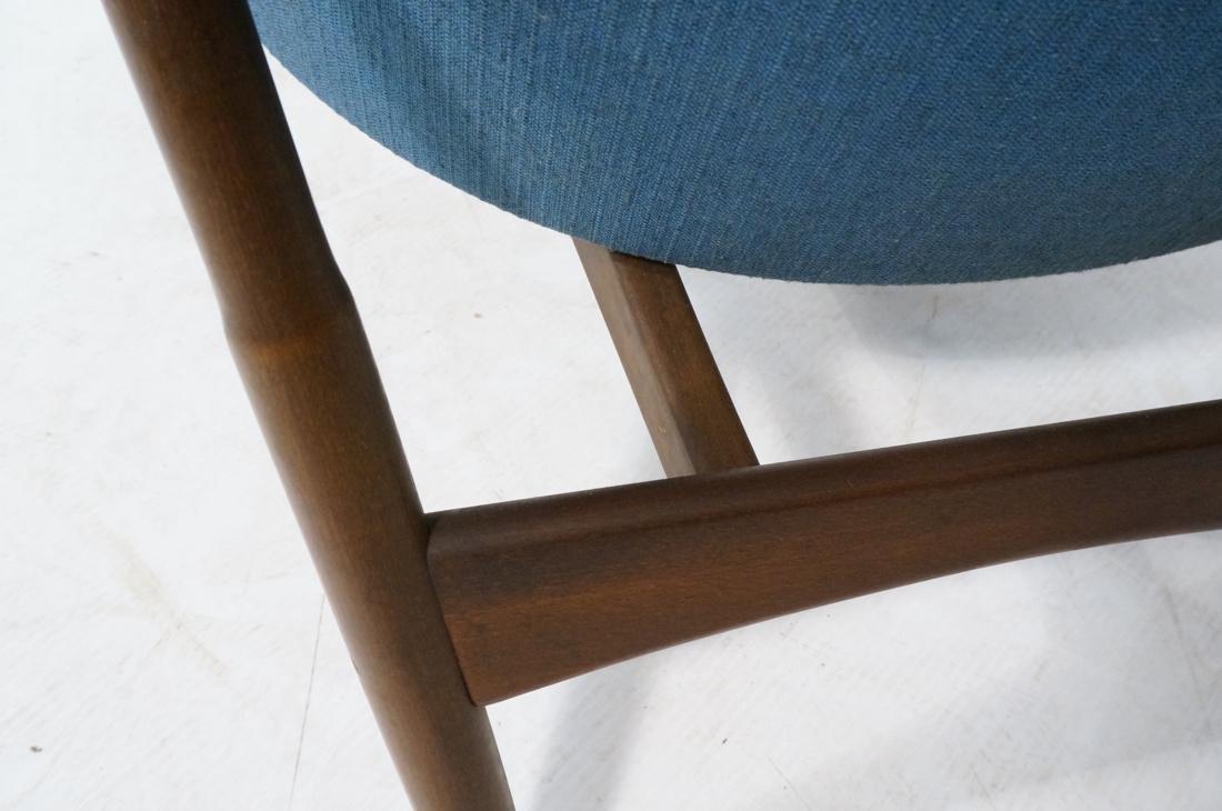 KOFOD LARSEN for SELIG Danish Modern Lounge Chair - 8