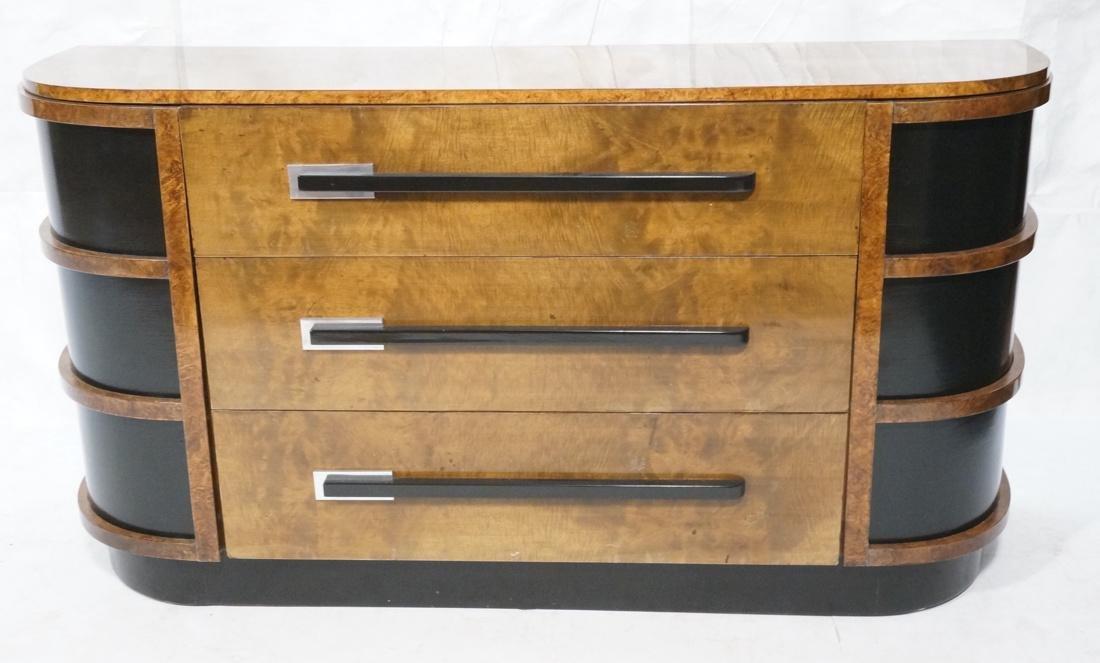WALTER DORWIN TEAGUE Art Deco Credenza Cabinet. B