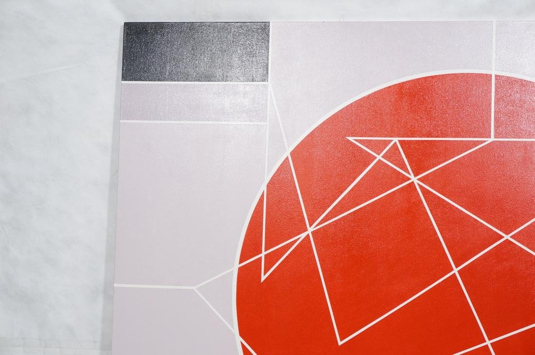 Large Modernist Geometric Oil Painting. Ilya Bolo - 2