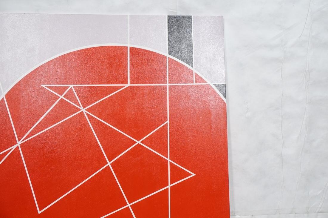 Large Modernist Geometric Oil Painting. Ilya Bolo - 3