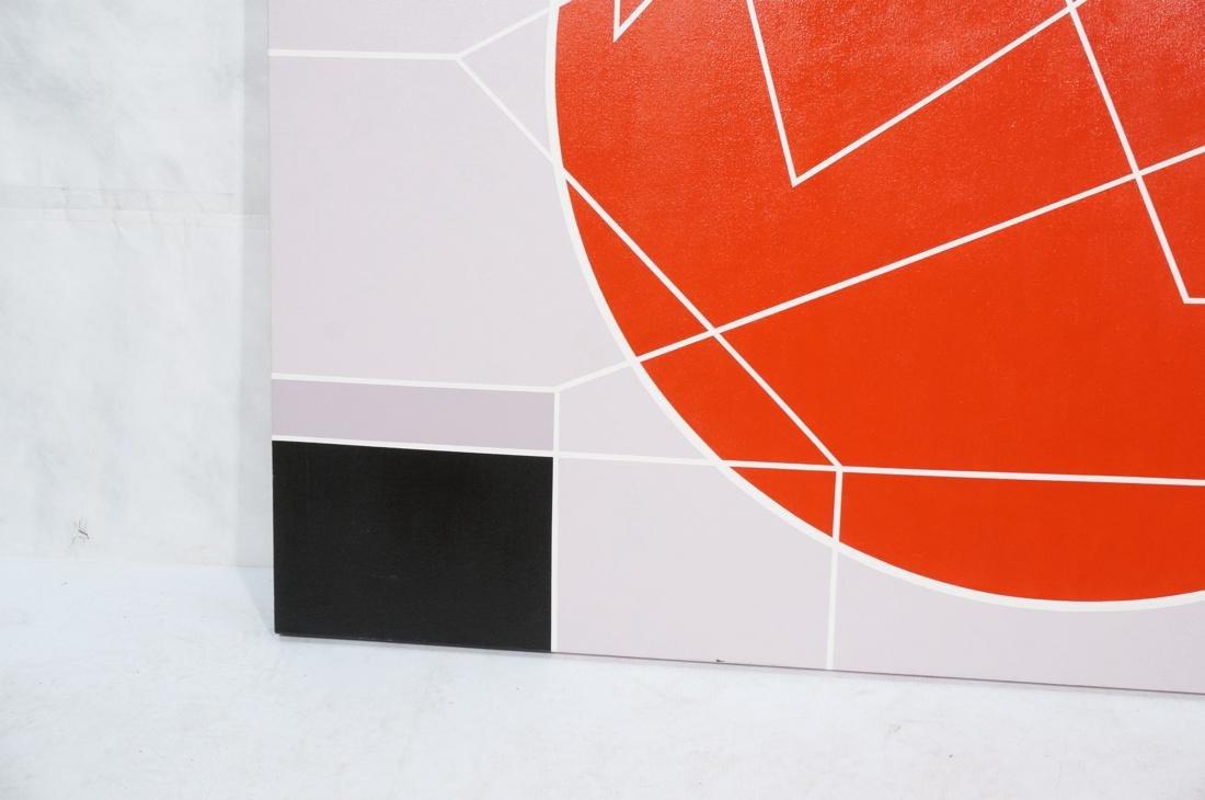 Large Modernist Geometric Oil Painting. Ilya Bolo - 5