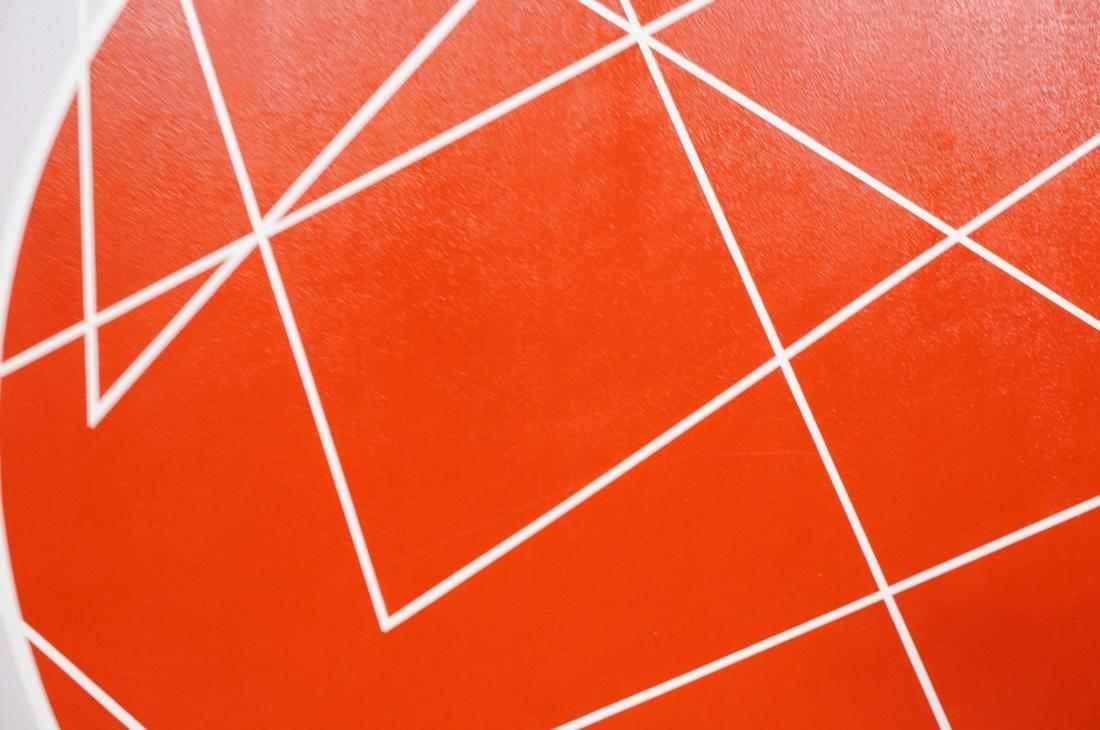 Large Modernist Geometric Oil Painting. Ilya Bolo - 6
