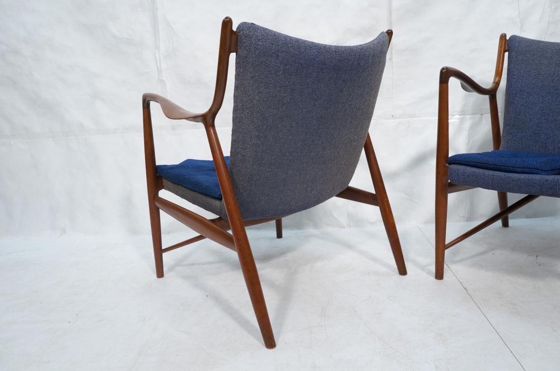 Pr FINN JUHL for ARNE VODDER Danish Lounge Chairs - 10