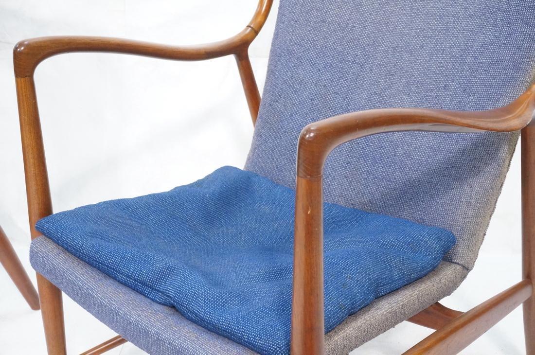 Pr FINN JUHL for ARNE VODDER Danish Lounge Chairs - 3