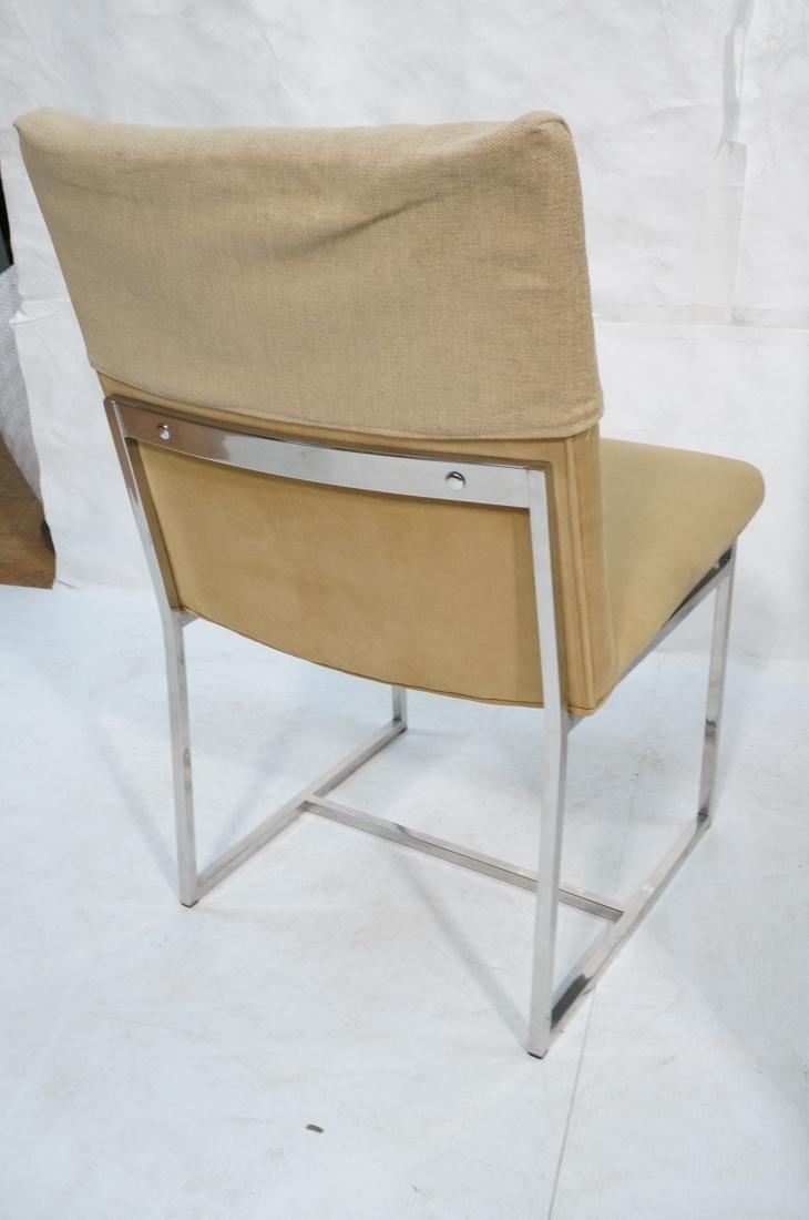 Set 6 MILO BAUGHMAN style Dining Chairs. Thin squ - 10