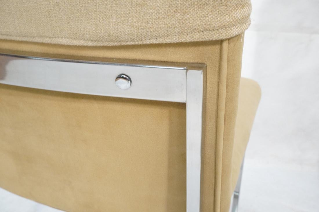 Set 6 MILO BAUGHMAN style Dining Chairs. Thin squ - 6