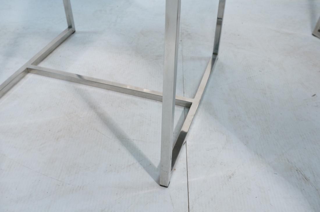 Set 6 MILO BAUGHMAN style Dining Chairs. Thin squ - 7