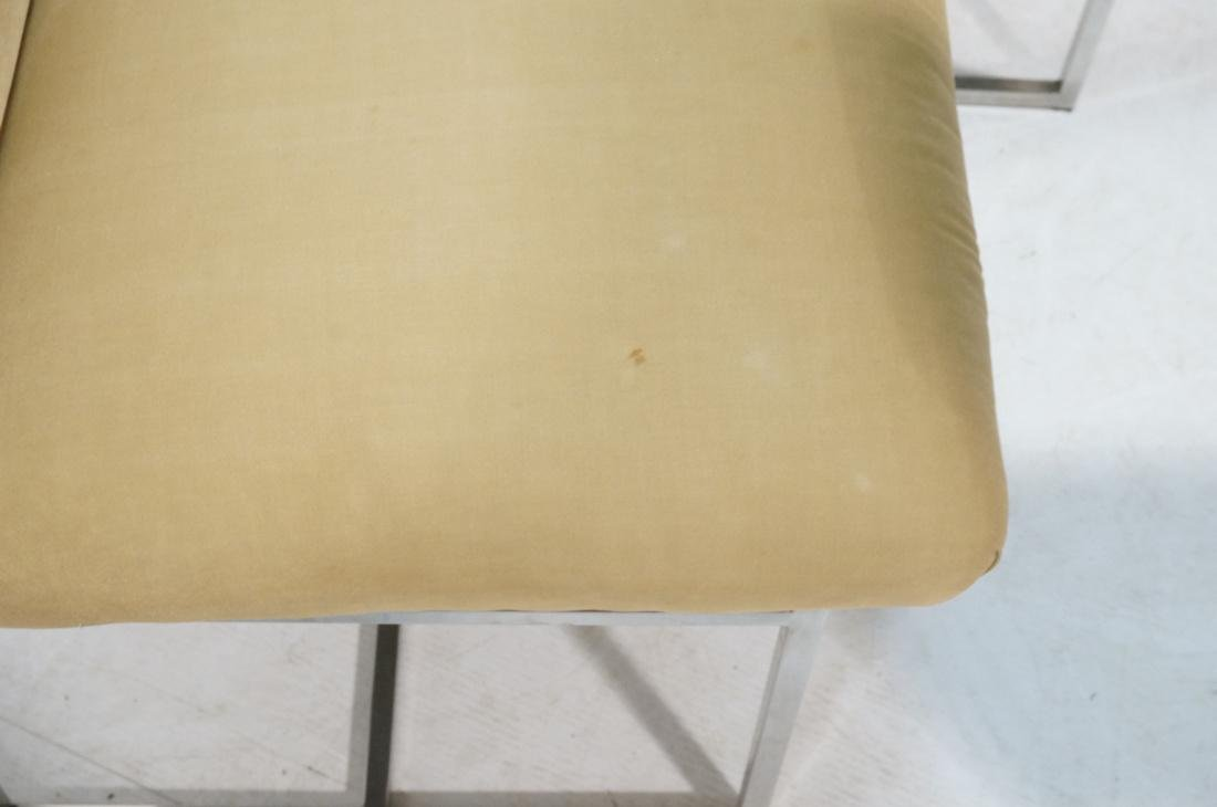 Set 6 MILO BAUGHMAN style Dining Chairs. Thin squ - 9