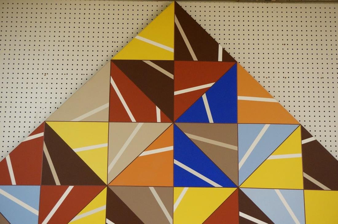 Gigantic Modernist Geometric Painting. Ilya Bolot - 2