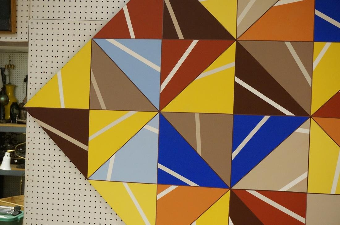 Gigantic Modernist Geometric Painting. Ilya Bolot - 3