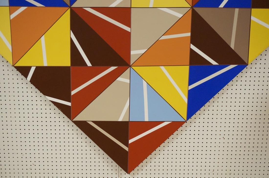 Gigantic Modernist Geometric Painting. Ilya Bolot - 4