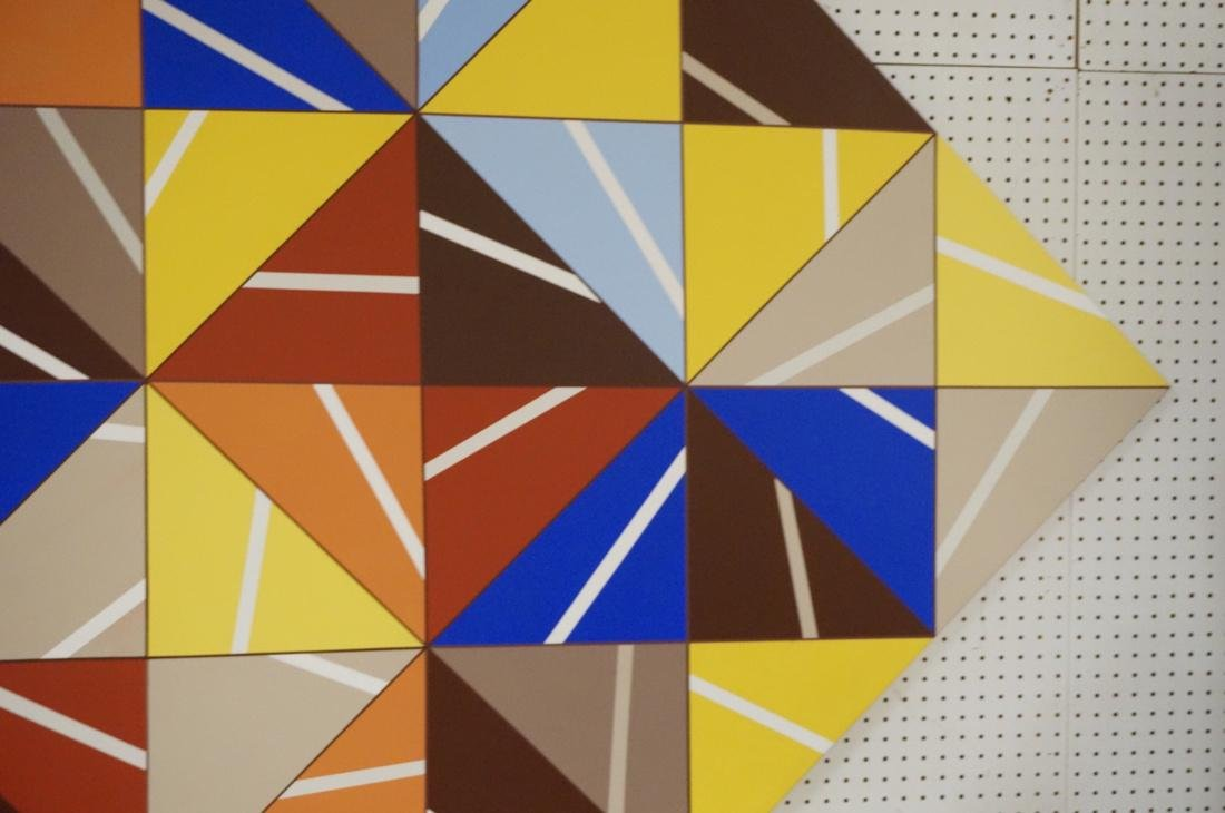 Gigantic Modernist Geometric Painting. Ilya Bolot - 5
