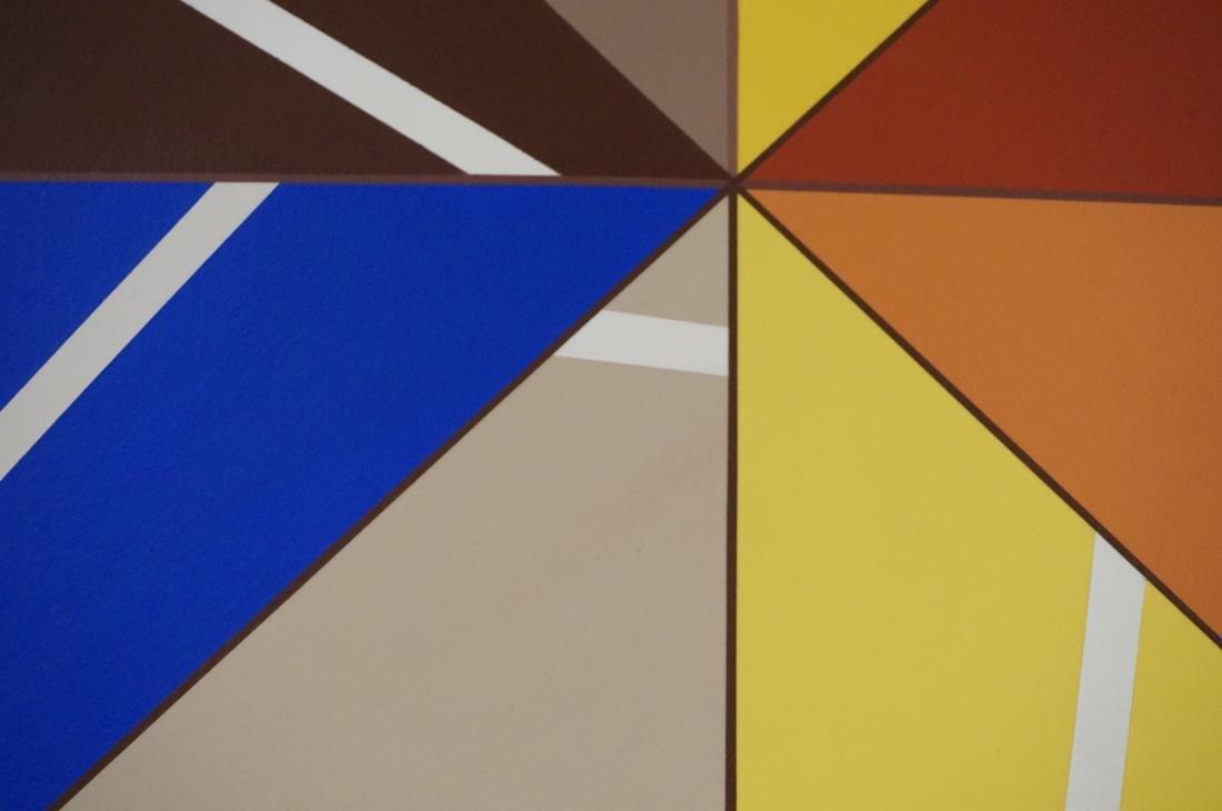 Gigantic Modernist Geometric Painting. Ilya Bolot - 6