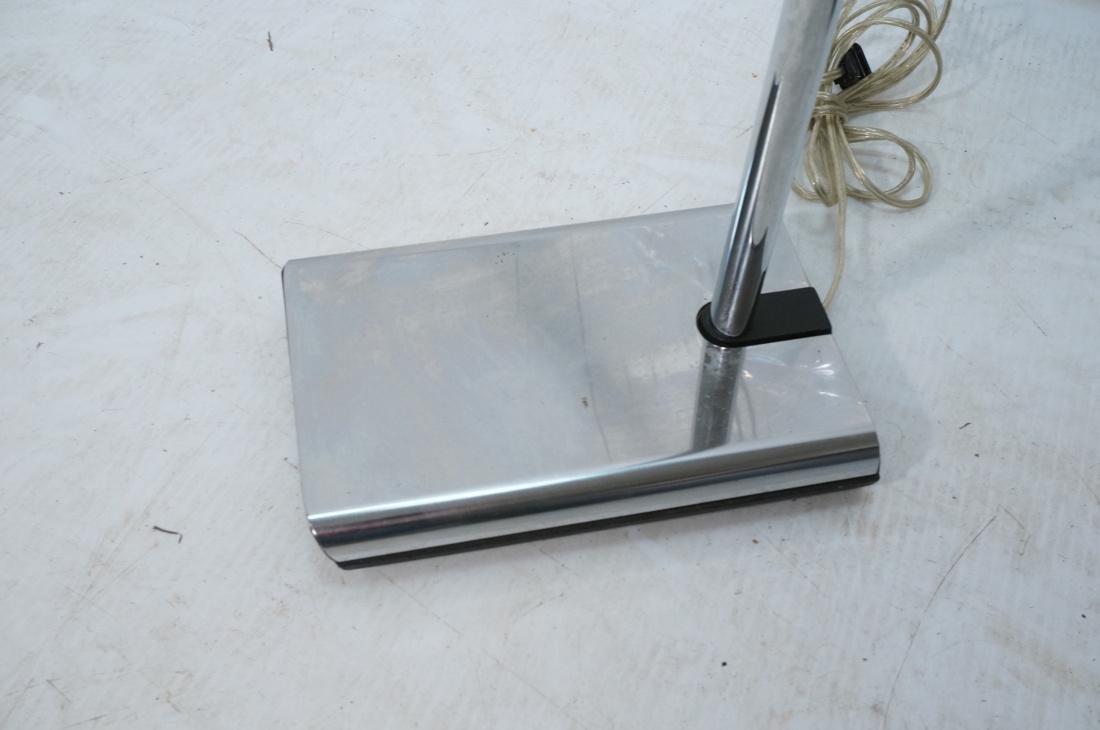 Pr KOCH & LOWY Chrome Modern Floor Lamps. Adjusta - 4