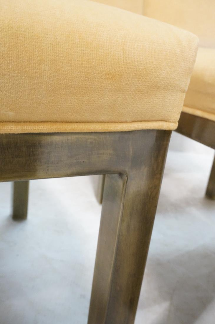 Set of 6 Mastercraft Style Dining Chairs. Antique - 10