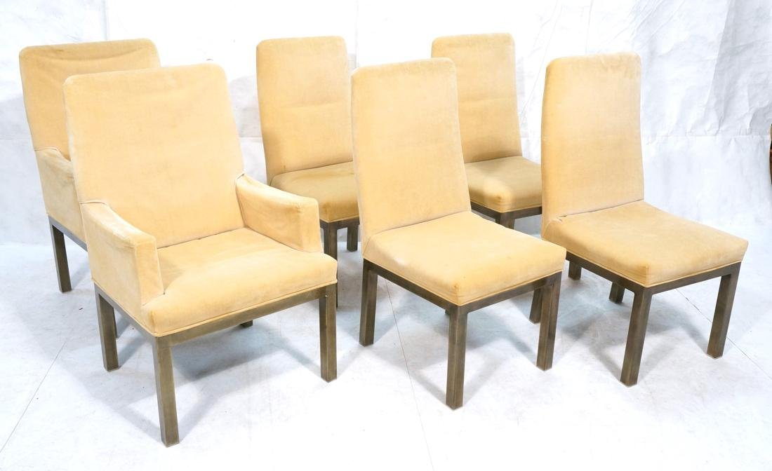 Set of 6 Mastercraft Style Dining Chairs. Antique
