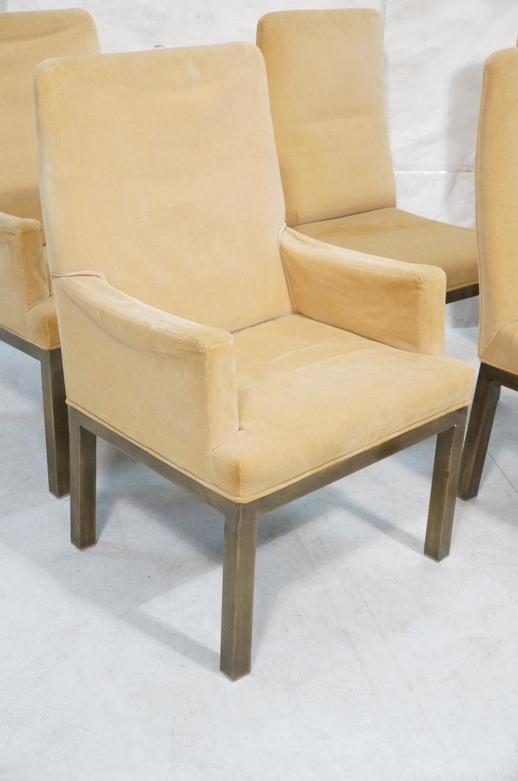 Set of 6 Mastercraft Style Dining Chairs. Antique - 2