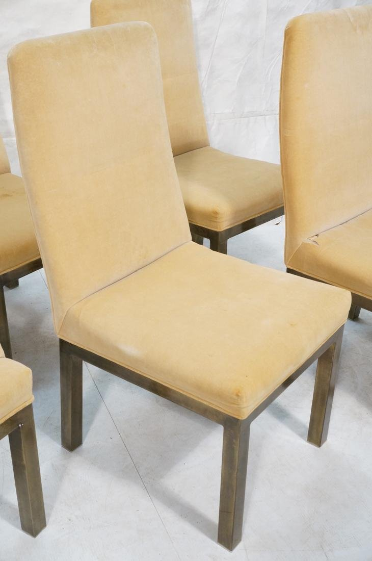 Set of 6 Mastercraft Style Dining Chairs. Antique - 3