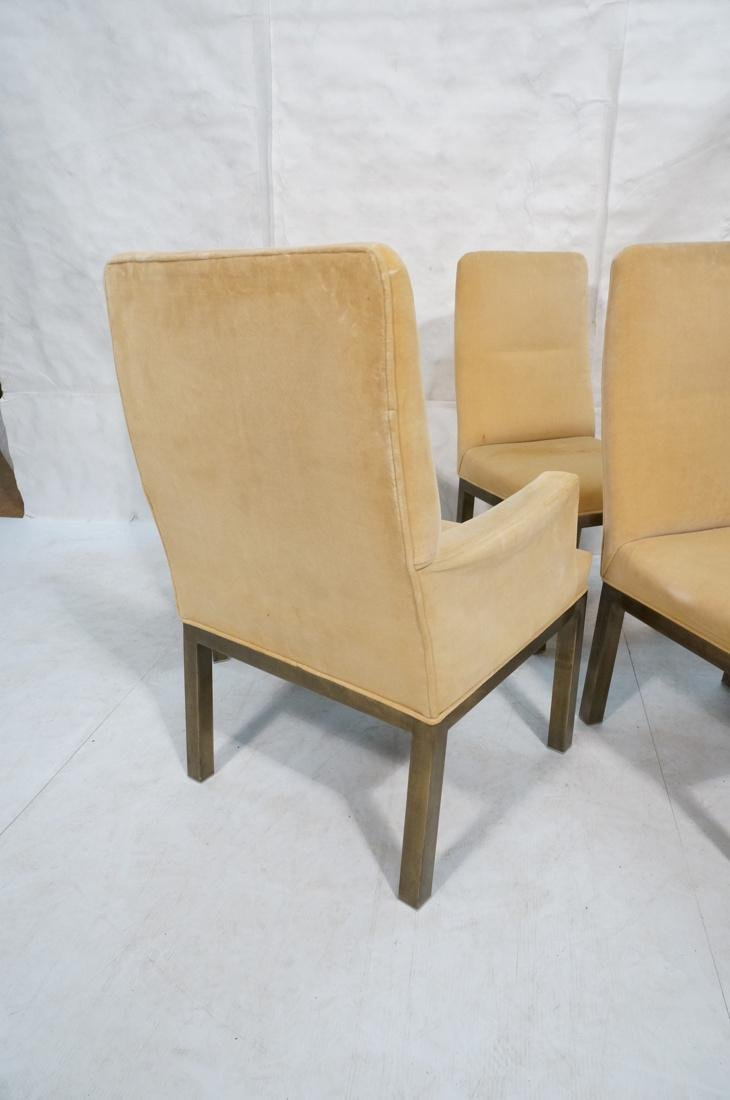 Set of 6 Mastercraft Style Dining Chairs. Antique - 7
