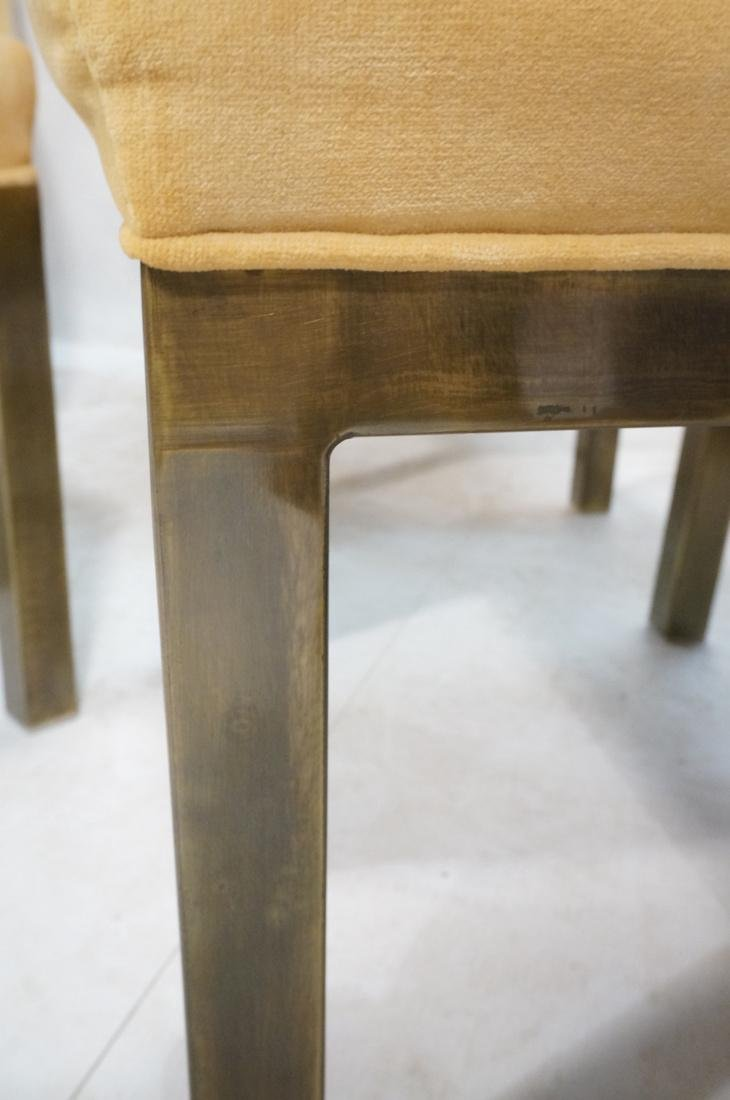 Set of 6 Mastercraft Style Dining Chairs. Antique - 9