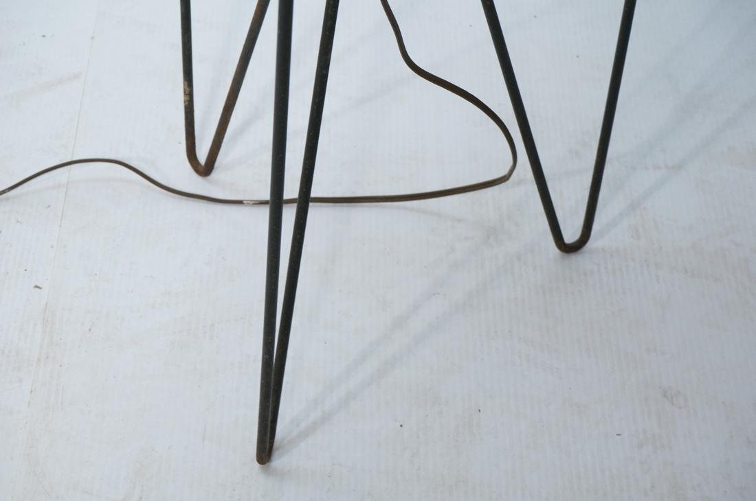PAUL MAYEN Hairpin Base Floor Lamp. Metal rod gri - 5