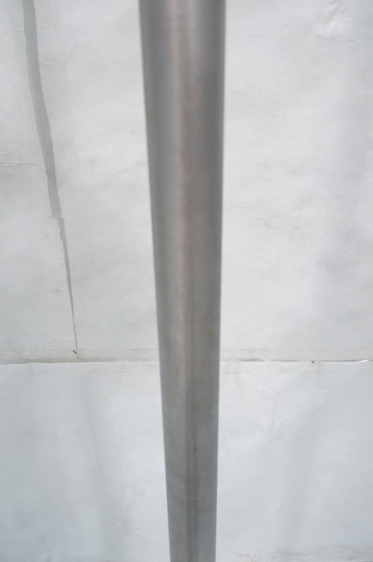 RUSSEL WRIGHT Style Anodized Aluminum Floor Lamp. - 8