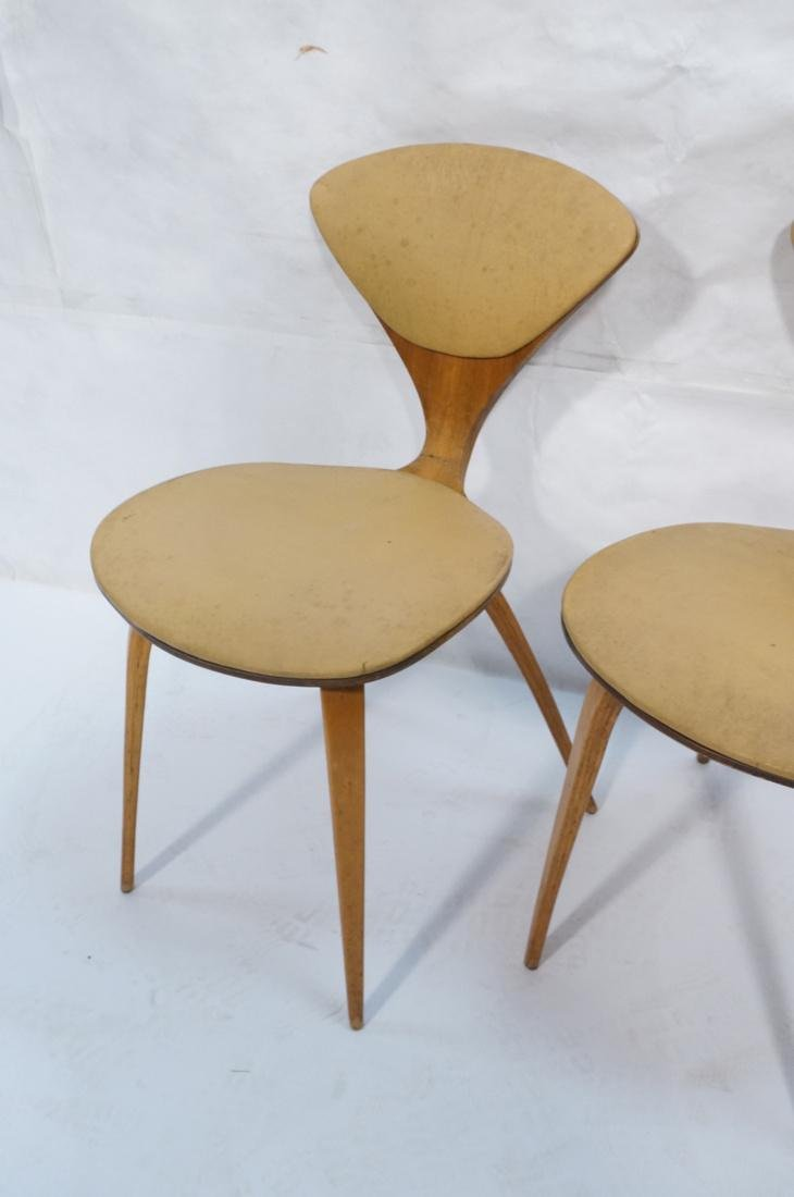 Set of 4 NORMAN CHERNER Plycraft Dining Chairs. M - 5