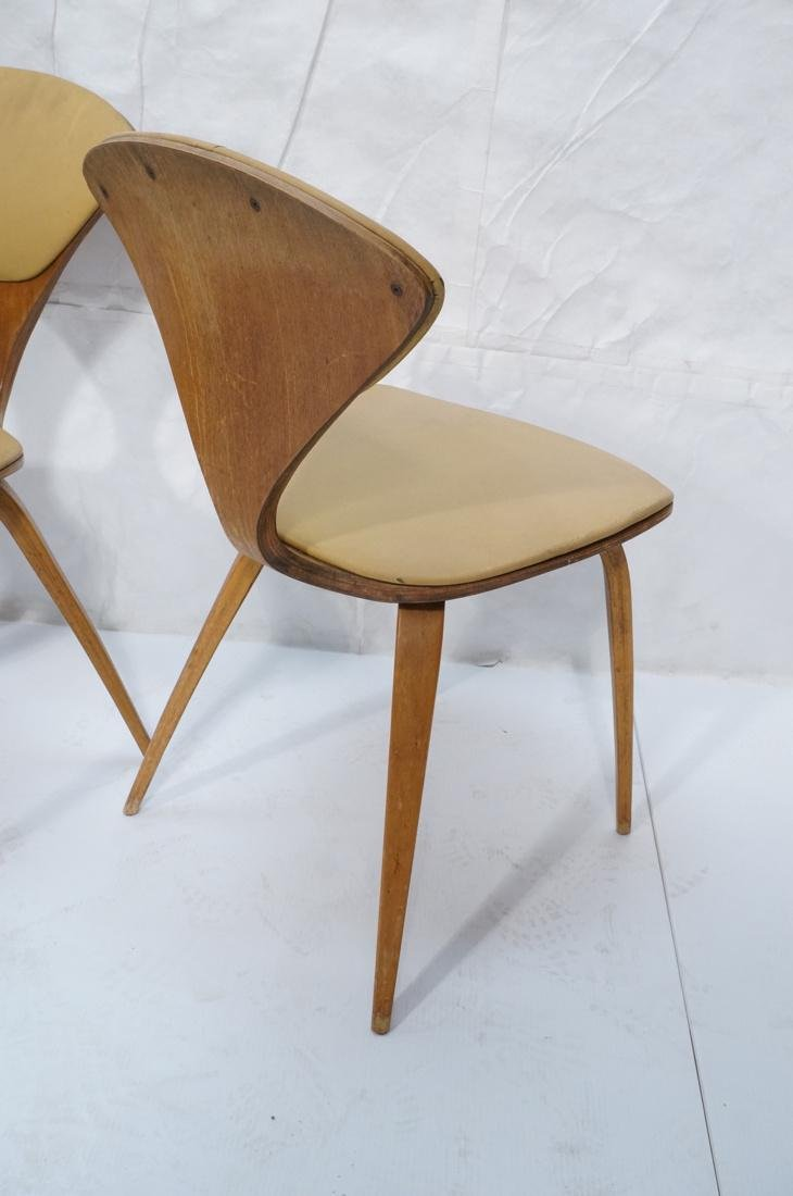 Set of 4 NORMAN CHERNER Plycraft Dining Chairs. M - 8