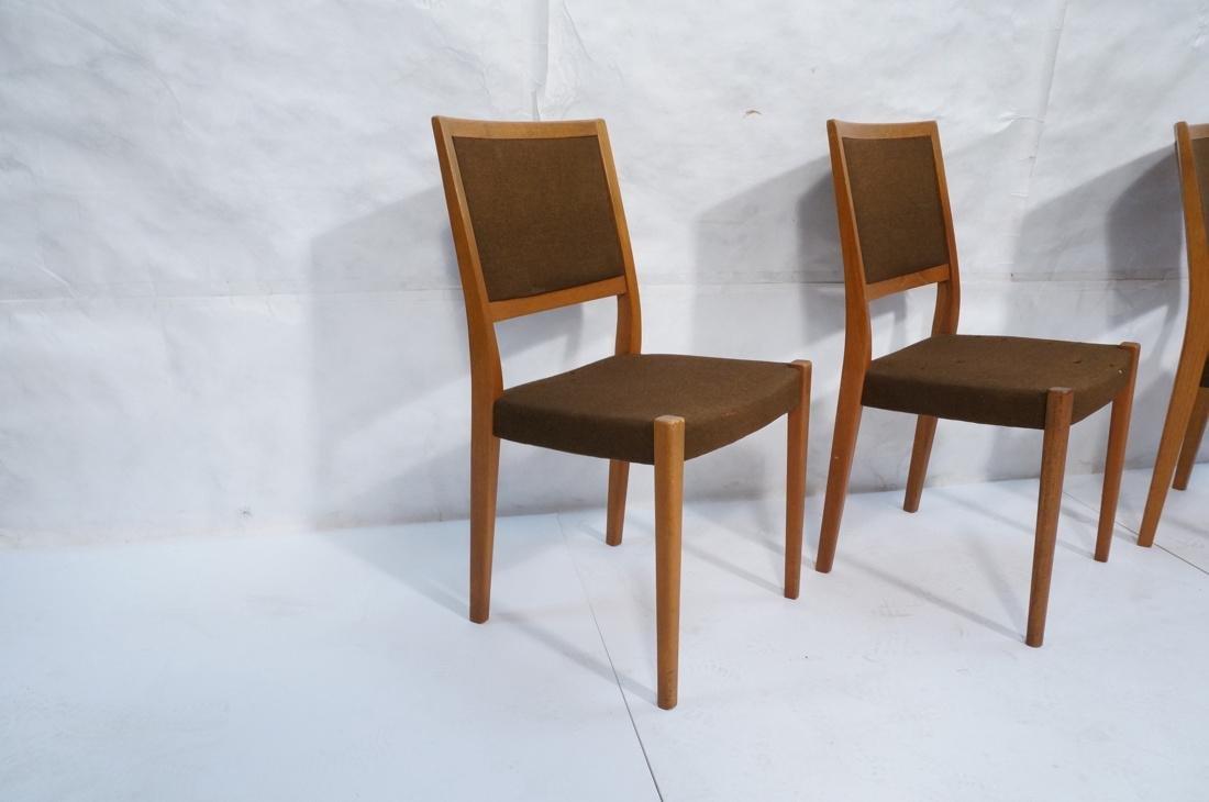 Set of 4 SVEGARDS Swedish Teak Dining Chairs. Bro - 2