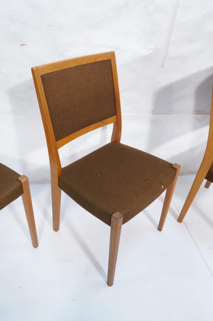 Set of 4 SVEGARDS Swedish Teak Dining Chairs. Bro - 3