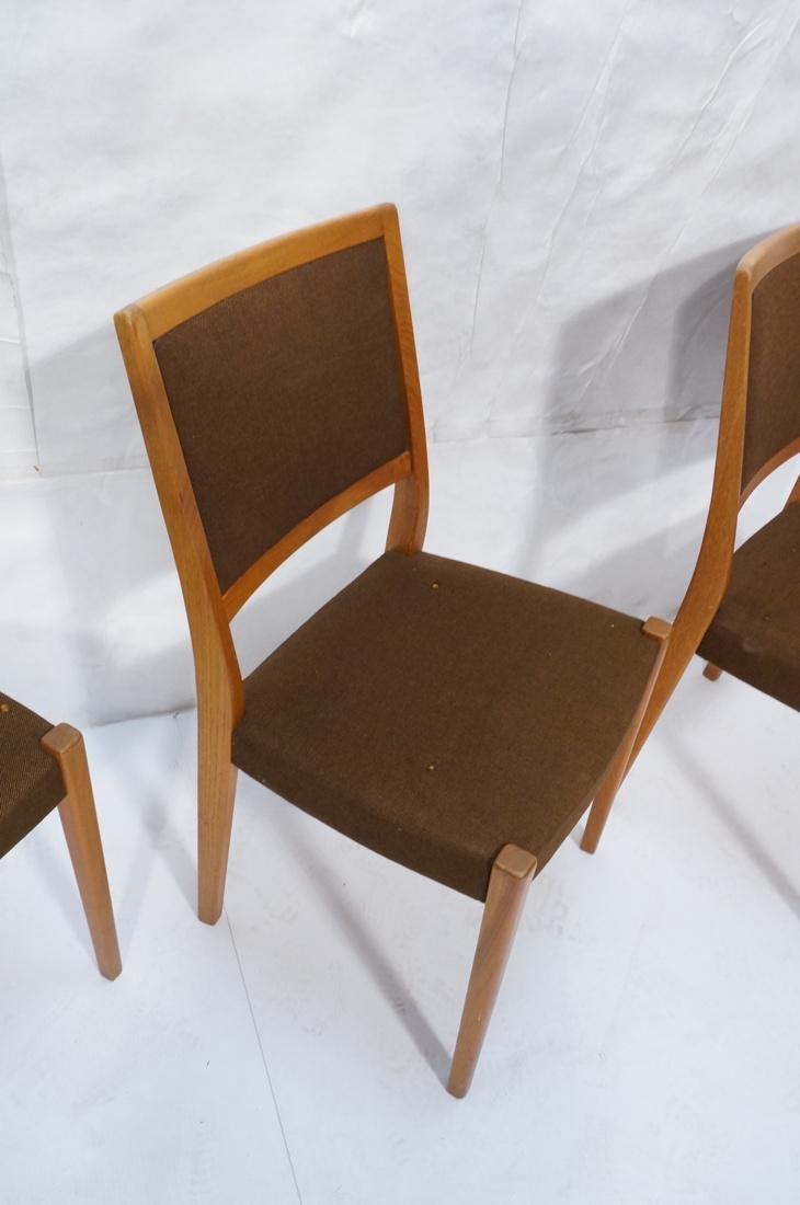 Set of 4 SVEGARDS Swedish Teak Dining Chairs. Bro - 4
