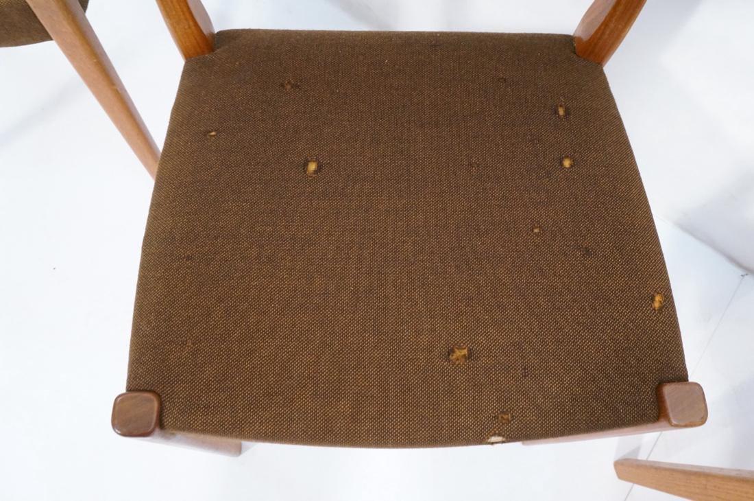 Set of 4 SVEGARDS Swedish Teak Dining Chairs. Bro - 7