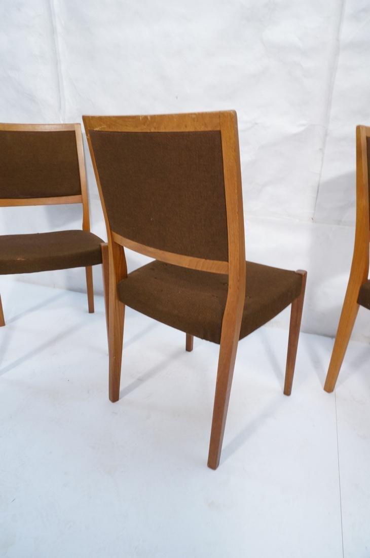 Set of 4 SVEGARDS Swedish Teak Dining Chairs. Bro - 8