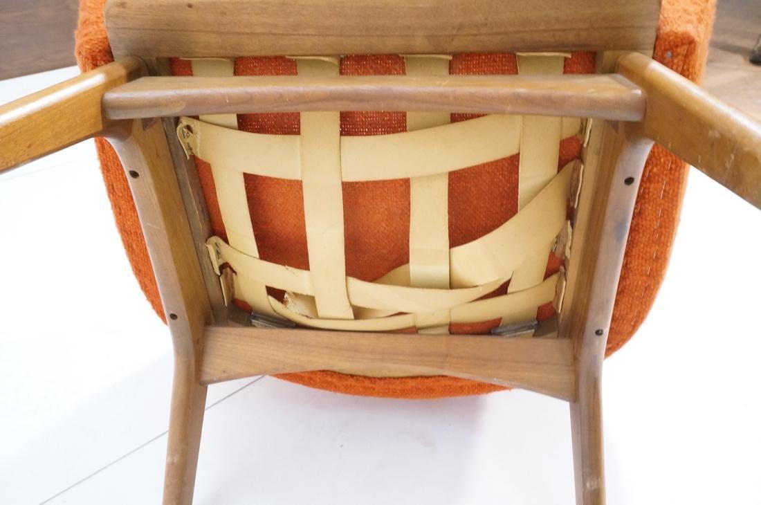 ADRIAN PEARSALL AMERICAN MODERN Walnut Lounge Cha - 10
