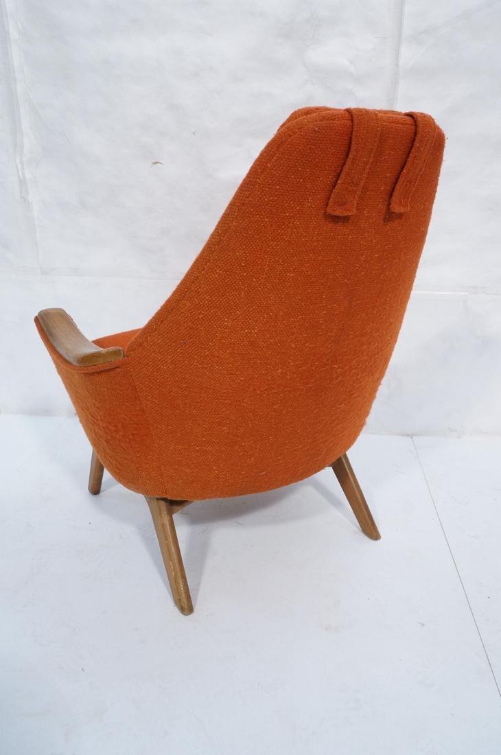 ADRIAN PEARSALL AMERICAN MODERN Walnut Lounge Cha - 8