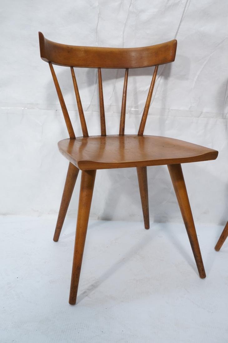 Set of 2 PAUL MCCOBB Maple Captains Chairs. Taper - 3