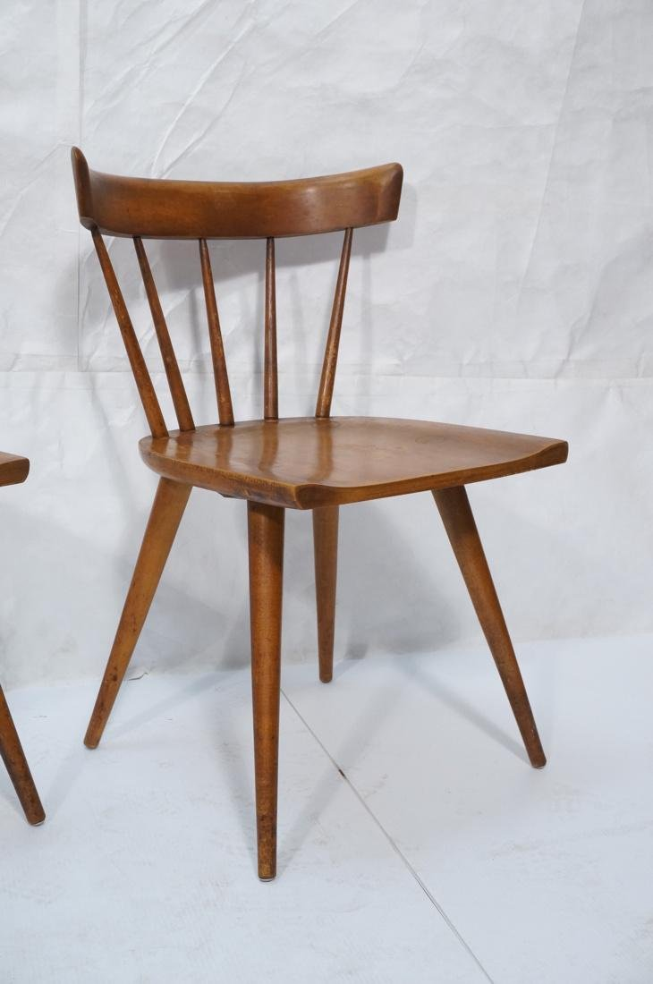Set of 2 PAUL MCCOBB Maple Captains Chairs. Taper - 4