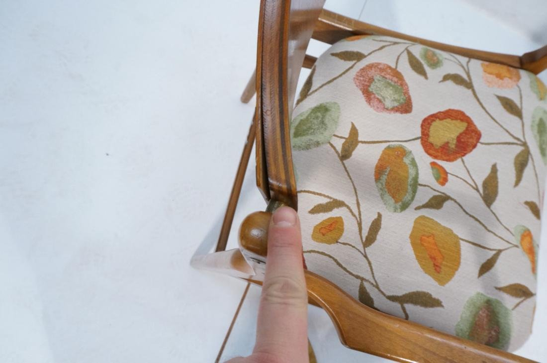 Lot of 6 Modernist Dining Chairs. 2 arm and 4 sid - 10