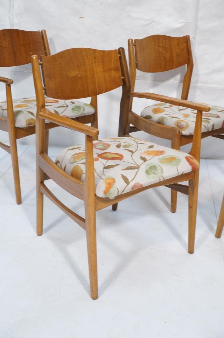 Lot of 6 Modernist Dining Chairs. 2 arm and 4 sid - 2