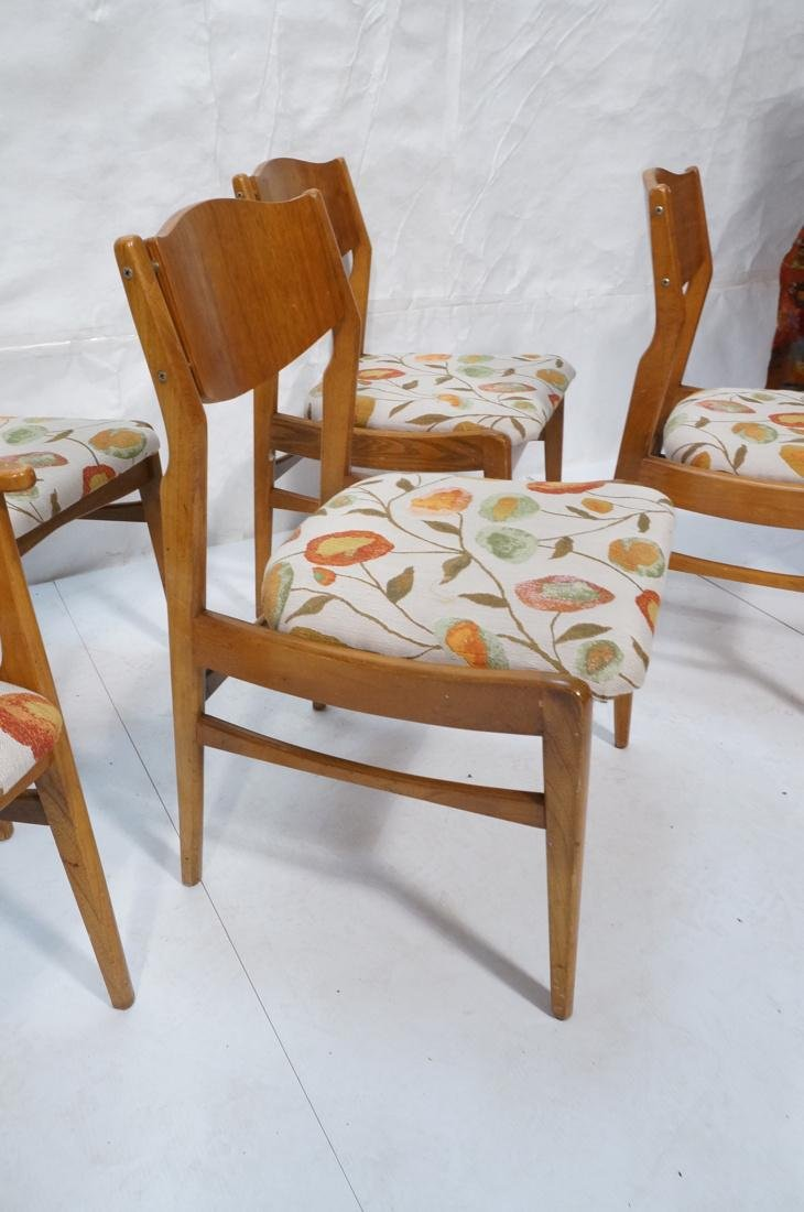 Lot of 6 Modernist Dining Chairs. 2 arm and 4 sid - 3