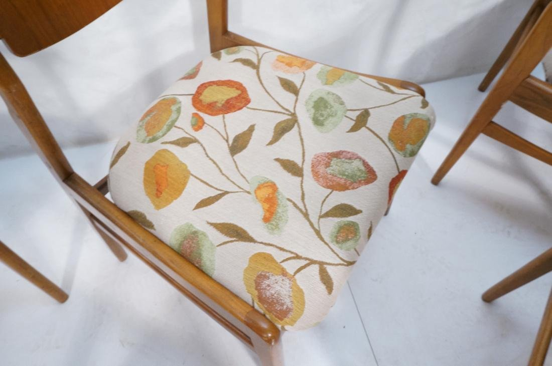 Lot of 6 Modernist Dining Chairs. 2 arm and 4 sid - 6