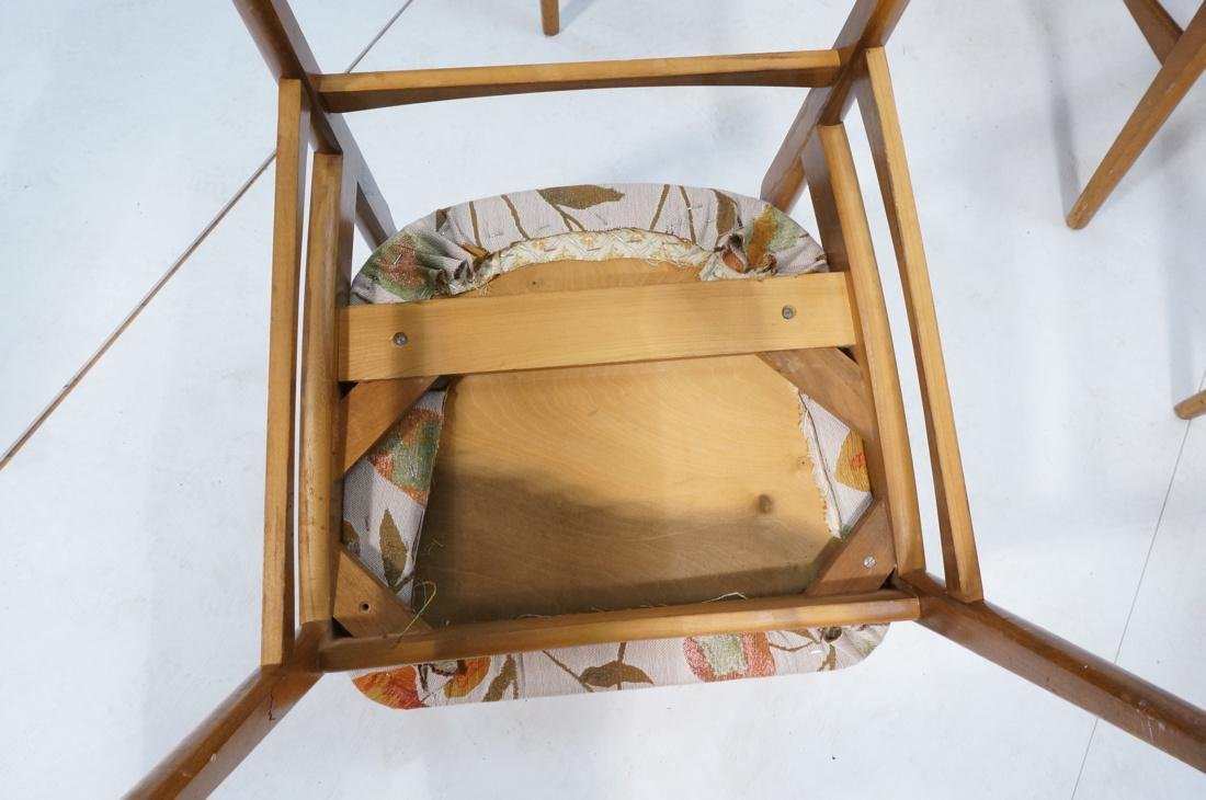 Lot of 6 Modernist Dining Chairs. 2 arm and 4 sid - 8