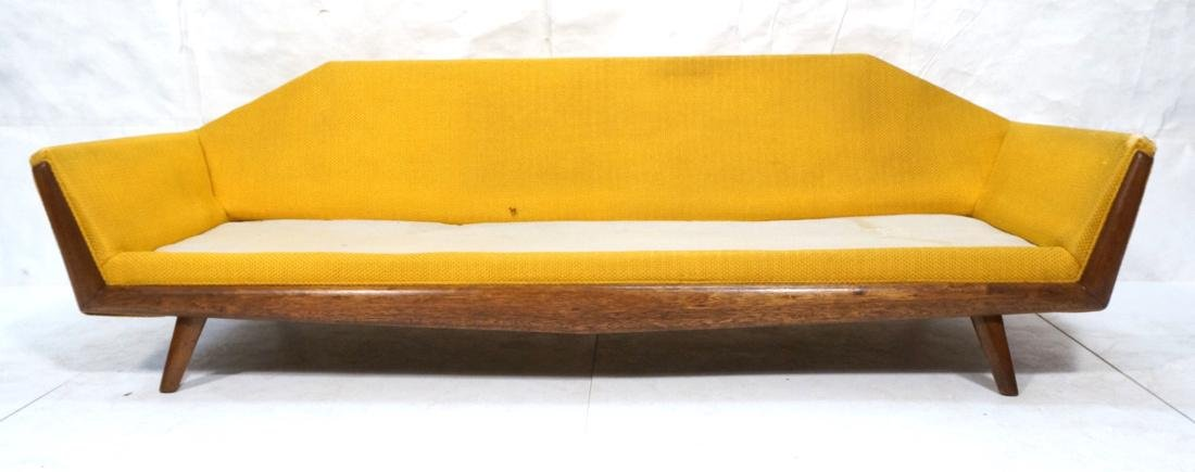 ADRIAN PEARSALL AMERICAN MODERN Sofa Gold. Angled