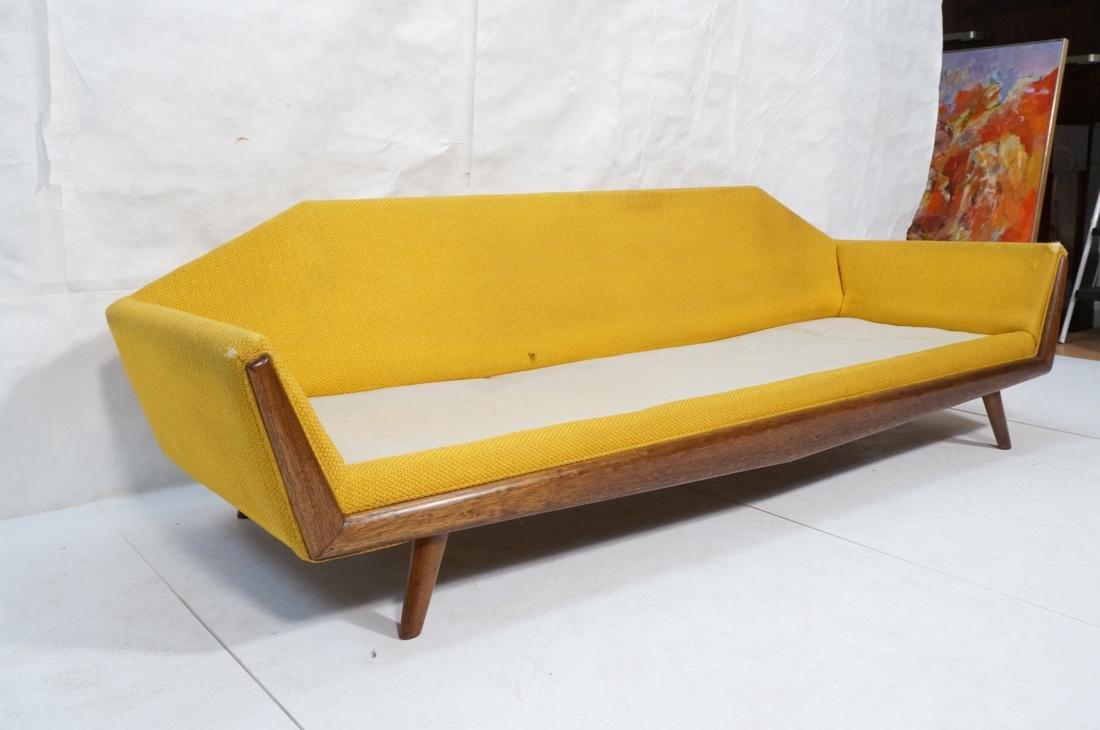 ADRIAN PEARSALL AMERICAN MODERN Sofa Gold. Angled - 2