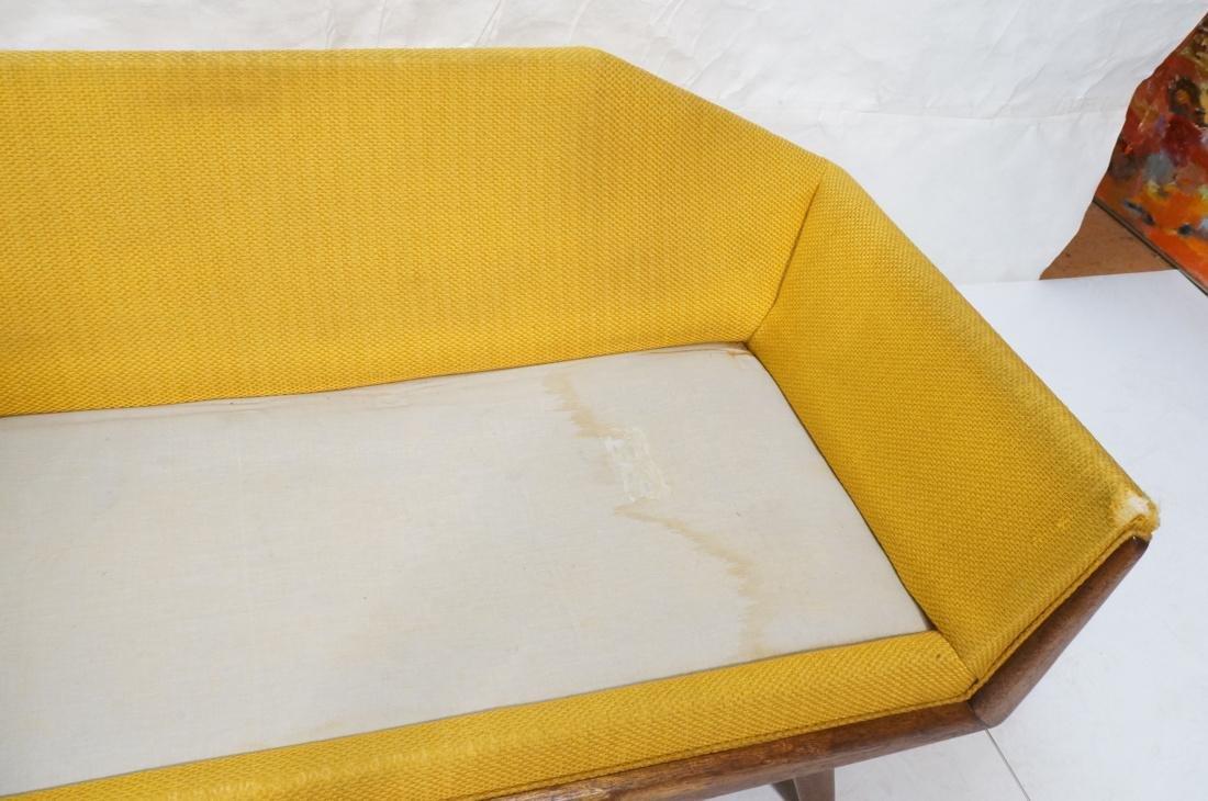 ADRIAN PEARSALL AMERICAN MODERN Sofa Gold. Angled - 5