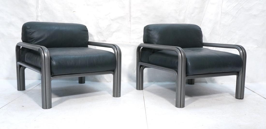 Pr KNOLL International GAE AULENTI Lounge Chairs.
